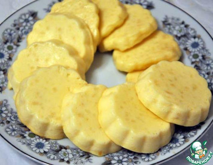 Рецепт: Сметанное пирожное в мультиварке