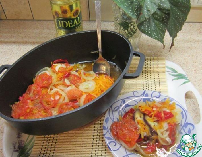 Рецепт: Овощное сотэ Идеальное осеннее сочетание