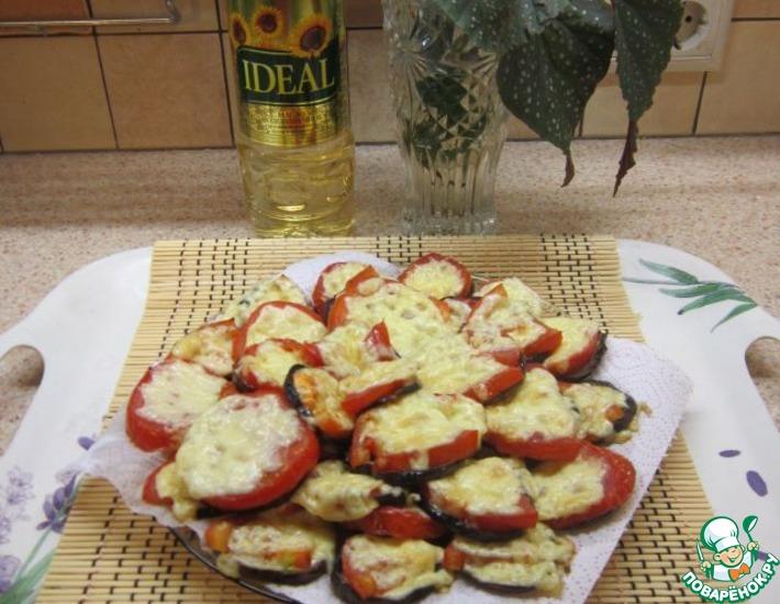 Рецепт: Овощные бутербродики Идеальное осеннее сочетание