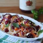 Салат из капусты с непростой заправкой