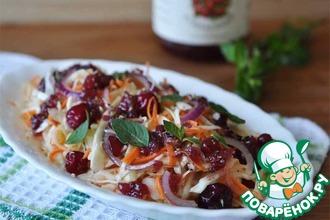Рецепт: Салат из капусты с непростой заправкой