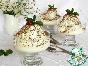 Десерт из медовых пряников