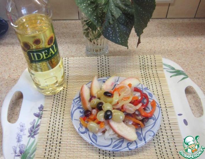 Рецепт: Маринованные овощи Идеальное осеннее сочетание