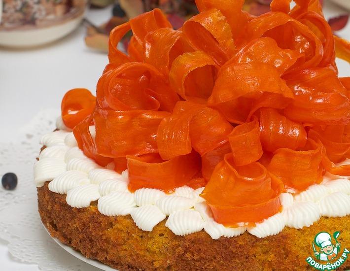 Рецепт: Осенний праздничный пирог