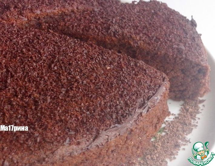 Рецепт: Шоколадный пирог с кабачком