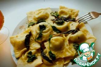 Рецепт: Равиоли-пельмени по-итальянски