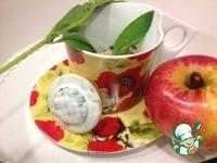 Йогуртовый заварной крем с яблоком и мятой ингредиенты