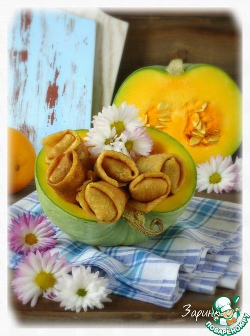 Тыквенные пончики – кулинарный рецепт