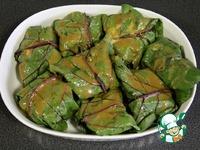 Рыба в свекольных листьях ингредиенты