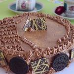 Шоколадный торт на пудинге