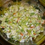 Салат с пореем