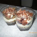 Десерт Сливовый тирамисун