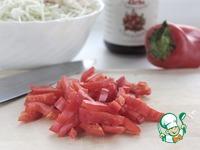 Салат из капусты с куриным филе ингредиенты