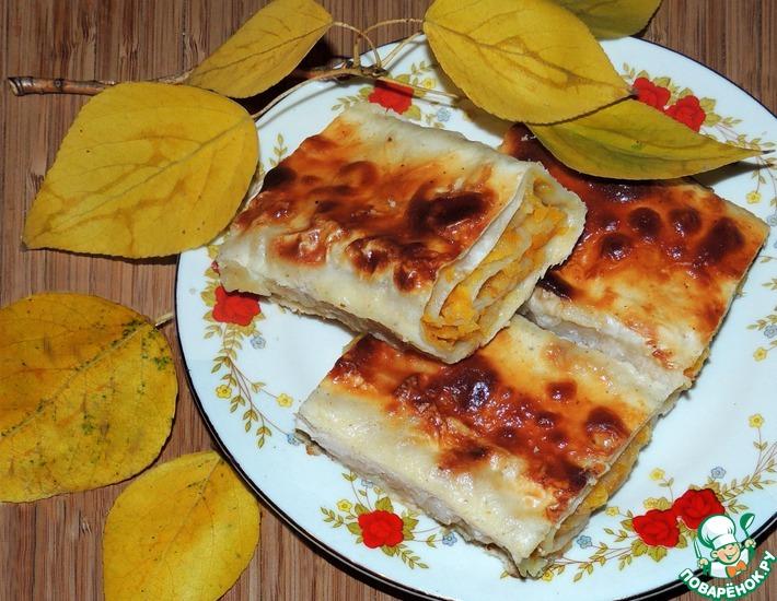 Рецепт: Быстрый пирог Золото осеннее
