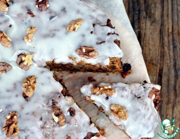 Рецепт: Пирог из осенних овощей с орехами