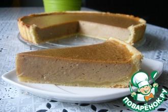 Рецепт: Пирог с начинкой из тыквы, груши и банана