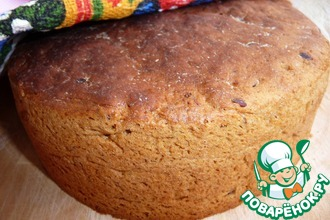 Рецепт: Хлеб ржаной на опаре