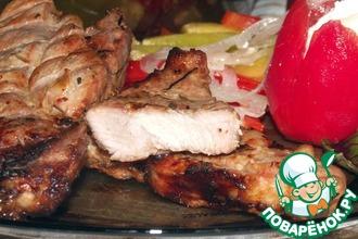 Рецепт: Мясо-барбекю с секретом
