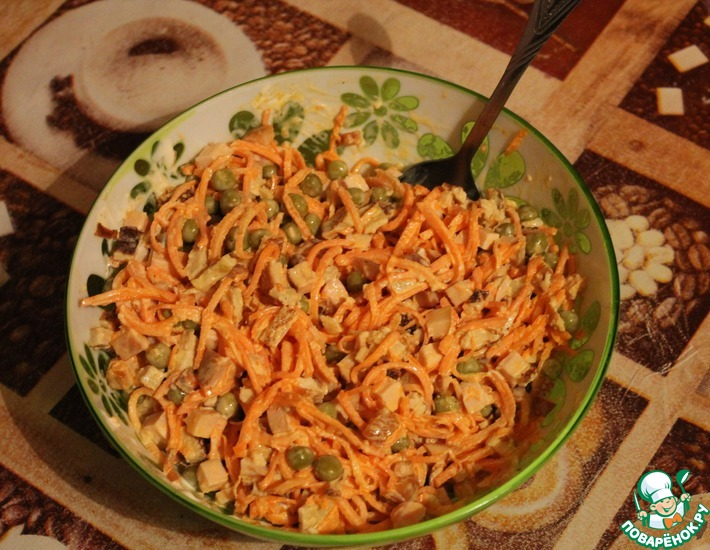 Рецепт: Салат Восточный Шик