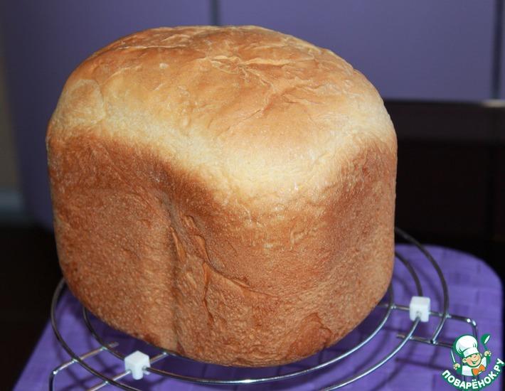 Рецепт: Хлеб молочный (для хлебопечки)