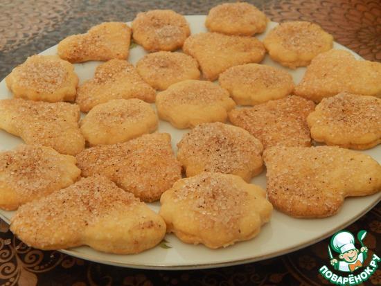 Печенье из песочно-дрожжевого теста от Janecheh