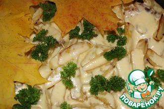Рецепт: Сырная картошечка