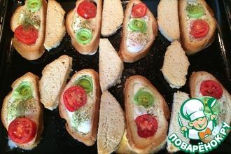 Рецепт: Жареные яйца в хлебе