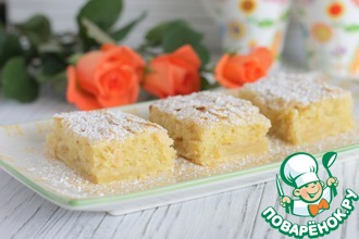 Рецепт: Миндальные пирожные