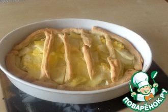 Рецепт: Картофельный пирог с сыром