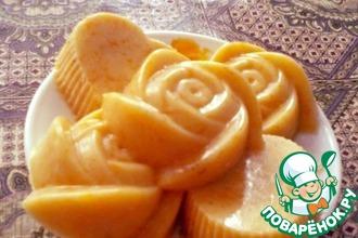 Рецепт: Аппетитный апельсиновый пудинг