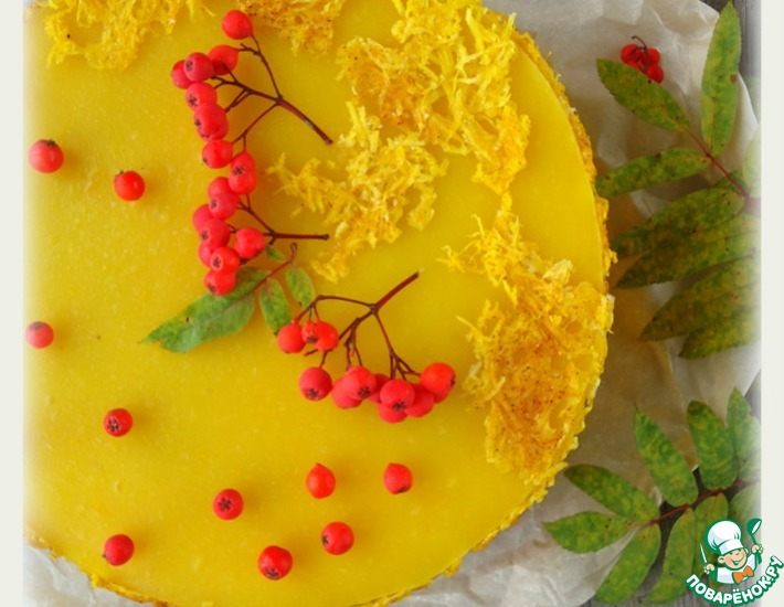 Рецепт: Тыквенный десертный торт