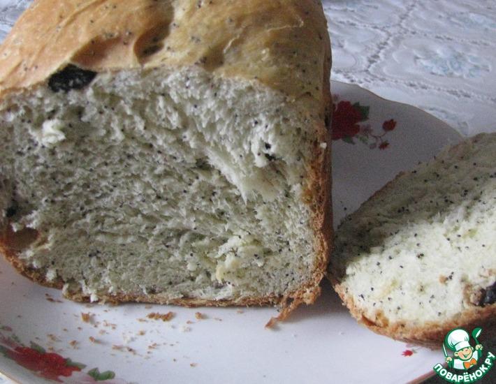 Рецепт: Молочно-сладкий хлеб к завтраку