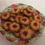 Печенье Брусничное Курабье