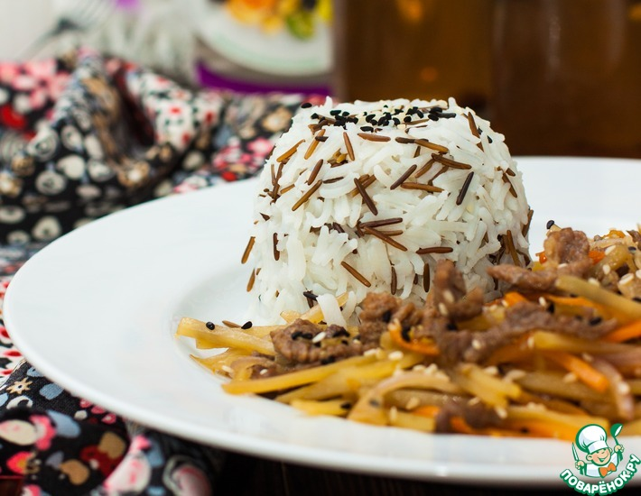 Рецепт: Китайский салат Черный дракон