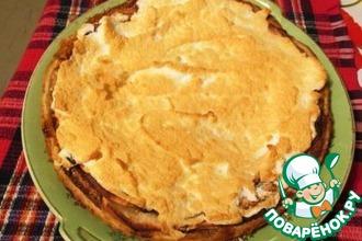 Рецепт: Яблочно-миндальный пирог