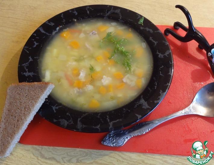 Рецепт: Суп из желтой чечевицы