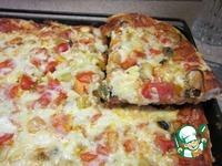 Пицца с мидиями и пицца с мясом ингредиенты
