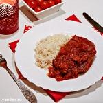 Шницели в томатном соусе