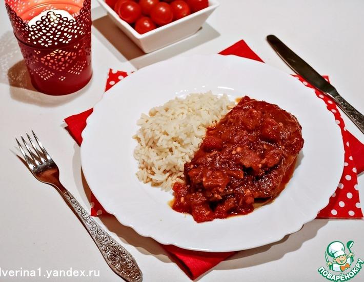 Рецепт: Шницели в томатном соусе