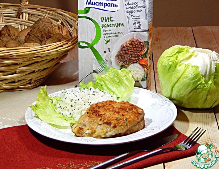 Рецепт: Сочные мясные конвертики с зеленью