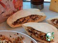 Пита с говядиной, рисом и грибами ингредиенты