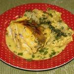 Рыбка в кефирно-имбирном маринаде