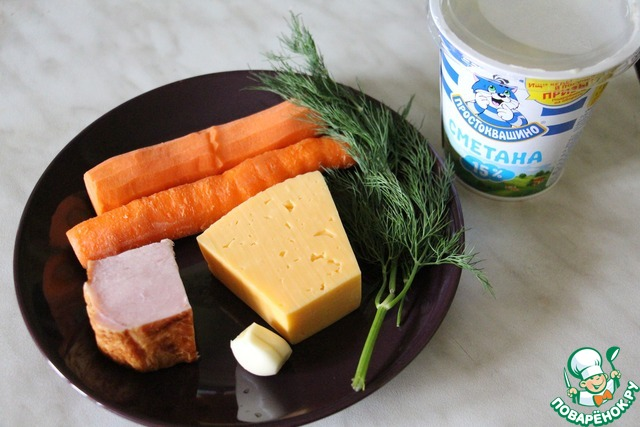 легкий салат с сыром