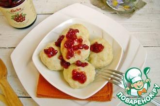 Рецепт: Картофельные шарики с грудинкой