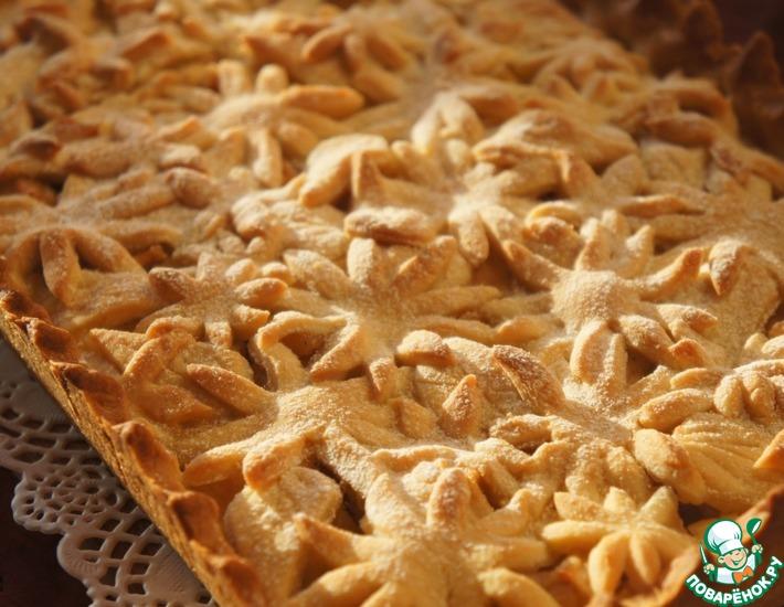 Цветочный яблочный пирог — 2