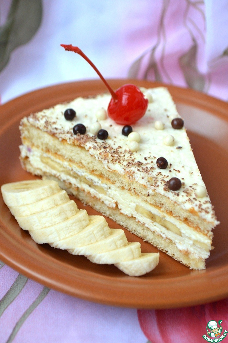 """Бисквитный торт """"Даниссимо"""""""
