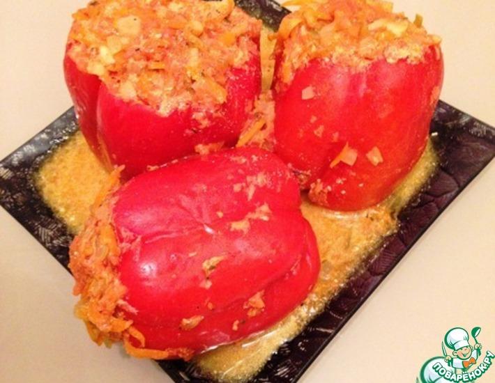 Рецепт: Фаршированные перцы С любовью