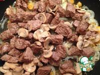 Быстрое рагу из телятины с рисом ингредиенты