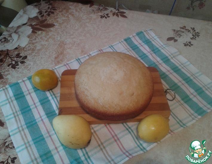 Рецепт: Лёгкий бисквит
