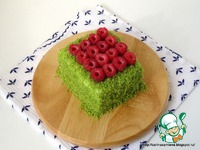 Пирожное Шпинат и малина ингредиенты